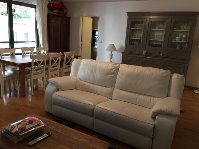 acheter en ligne 034a8 a5ff3 Mobilier Canapé cuir blanc cuir center Ile-de-France Hauts ...
