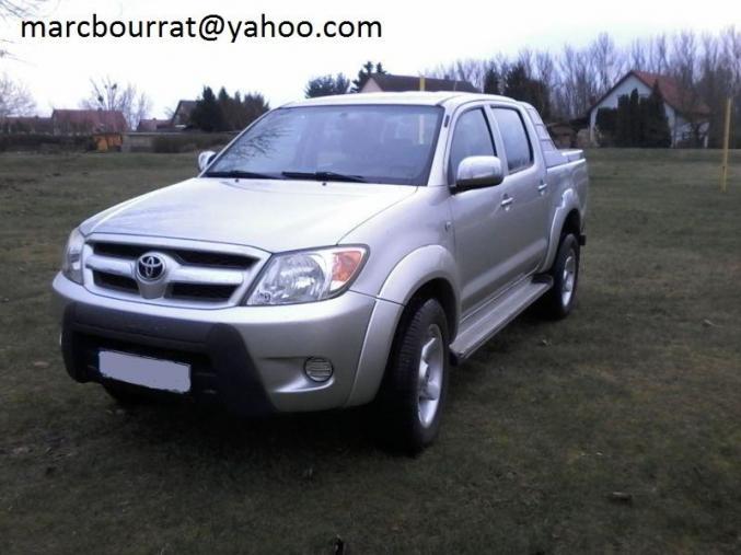 Hauts 4x4 Ile France Voitures Double Pick Hilux Cab Up De Toyota 8wP0OkXn