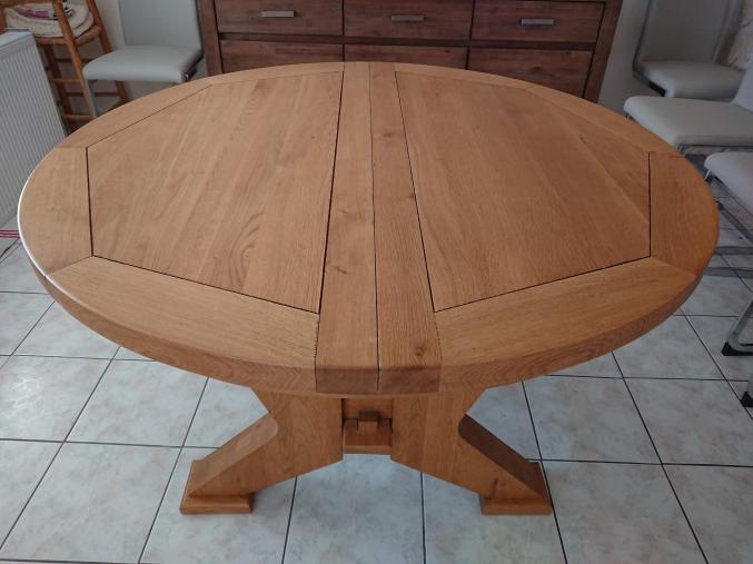 Mobilier Table De Salon Pin Massif Avec Allonge Bretagne
